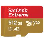 Sandisk Extreme Flash Speicher 512 GB MicroSDXC Klasse 10 UHS-I