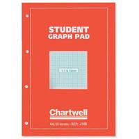 Chartwell L GRAPH PAD A4 1-5-10MM J14B