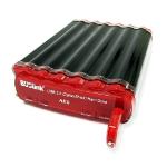 BUSlink 4TB CipherShield USB 3.0 AES 128-bit 4000GB Black,Red