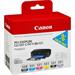 Canon 6496B005 (550 551) Ink cartridge multi pack, 7ml, Pack qty 6