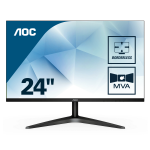 AOC Basic-line 24B1H PC Flachbildschirm 59,9 cm (23.6 Zoll) 1920 x 1080 Pixel Full HD LED Schwarz
