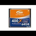 Team Group TCF64G40001 64GB CompactFlash memory card