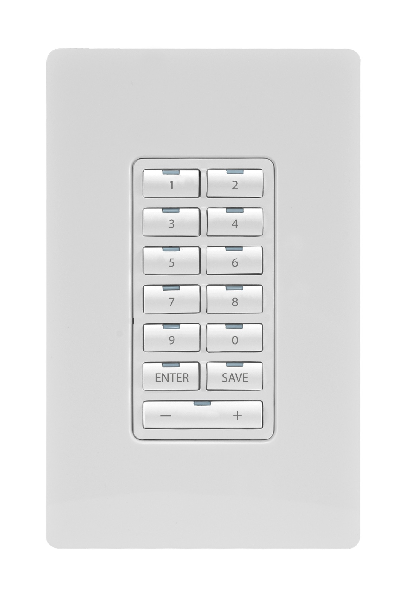 Metreau 13-button Ethernet Keypad,white