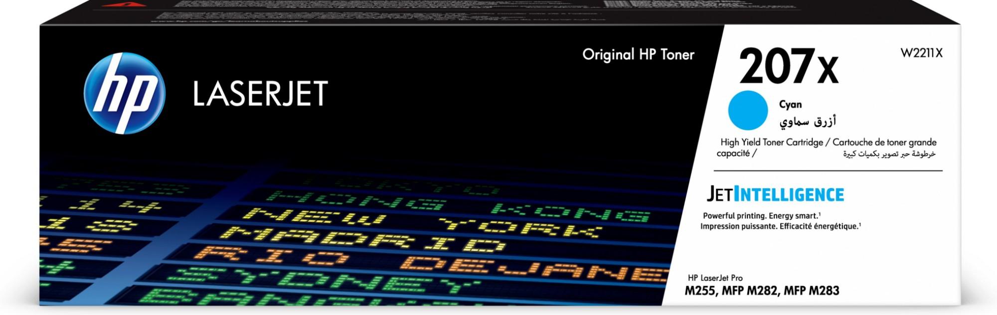 HP W2211X (207X) Toner cyan, 2.45K pages