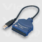 Videk AD2210 USB 2.0 - IDE Adapter Cable Blue