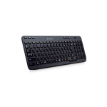 Logitech Wireless K360 keyboard RF Wireless QWERTY International EER Black