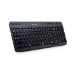 Logitech Wireless Keyboard K360 teclado RF inalámbrico QWERTY EER internacional Negro