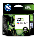 HP 22XL Origineel Cyaan, Magenta, Geel 1 stuk(s)