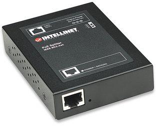 Intellinet Power over Ethernet (PoE+) Splitter, IEEE802.3at, 5, 7.5, 9 or 12 V DC output voltage
