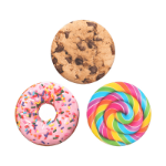 PopSockets PopMinis Sweet Tooth Mobile phone/Smartphone Multicolor