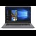 "ASUS VivoBook S15 S510UF-BR203T Gris Portátil 39,6 cm (15.6"") 1366 x 768 Pixeles 8ª generación de procesadores Intel® Core™ i7 i7-8550U 8 GB DDR4-SDRAM 256 GB SSD"