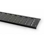 Prism Enclosures FI 27U 300mm Straight cable tray Black