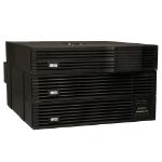 Tripp Lite SmartOnline, 5kVA Double-conversion (Online) 5000VA 16AC outlet(s) Rackmount/Tower Black uninterruptible power supply (UPS)