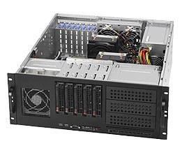 Supermicro SuperChassis 842TQ-865B Rack 865W Black