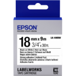 Epson LK-5WBW labelprinter-tape