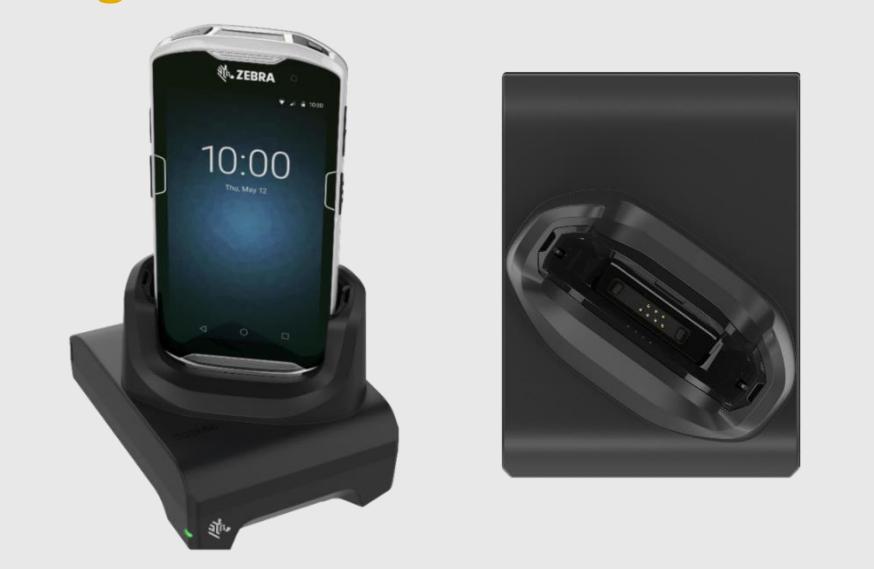 Zebra CRD-TC51-1SCU-01 cargador de dispositivo móvil Interior Negro