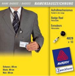 Avery 4829 identity badge/badge holder 10 pc(s)