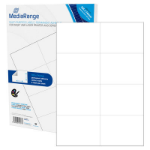 MediaRange MRINK145 self-adhesive label White Permanent 400 pc(s)