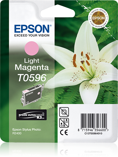 Epson Lily inktpatroon Light Magenta T0596 Ultra Chrome K3
