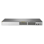 Hewlett Packard Enterprise OfficeConnect 1850 24G 2XGT PoE+ 185W Managed L2 Gigabit Ethernet (10/100/1000) Power over Ethernet (PoE) 1U Grey