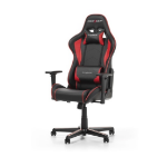 DXRacer F Series Gaming Chair, Sparco Style, Neck/Lumbar Support - Black & Red