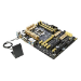 ASUS Z87-PRO Intel Z87 1150 ATX 4 DDR3 SLI/CrossFire 7 PCIe Wi-Fi