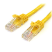 StarTech.com Cat5e patch cable with snagless RJ45 connectors – 10 ft, yellow