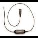 Jabra QD cord, straight, mod plug 0,5 m