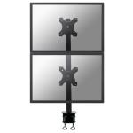 Newstar FPMA-D700DV Flat panel Tischhalter 68,6 cm (27 Zoll) Klemme Schwarz