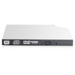Hewlett Packard Enterprise 9.5mm SATA DVD-RW JackBlack Gen9 Optical Drive Interno DVD Super Multi DL Negro, Gris unidad de disco óptico