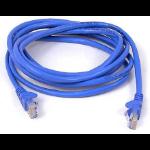 Belkin 2m CAT5e 2m Blue networking cable