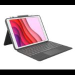 Logitech Combo Touch mobile device keyboard QWERTZ Schweiz Graphit Smart Connector