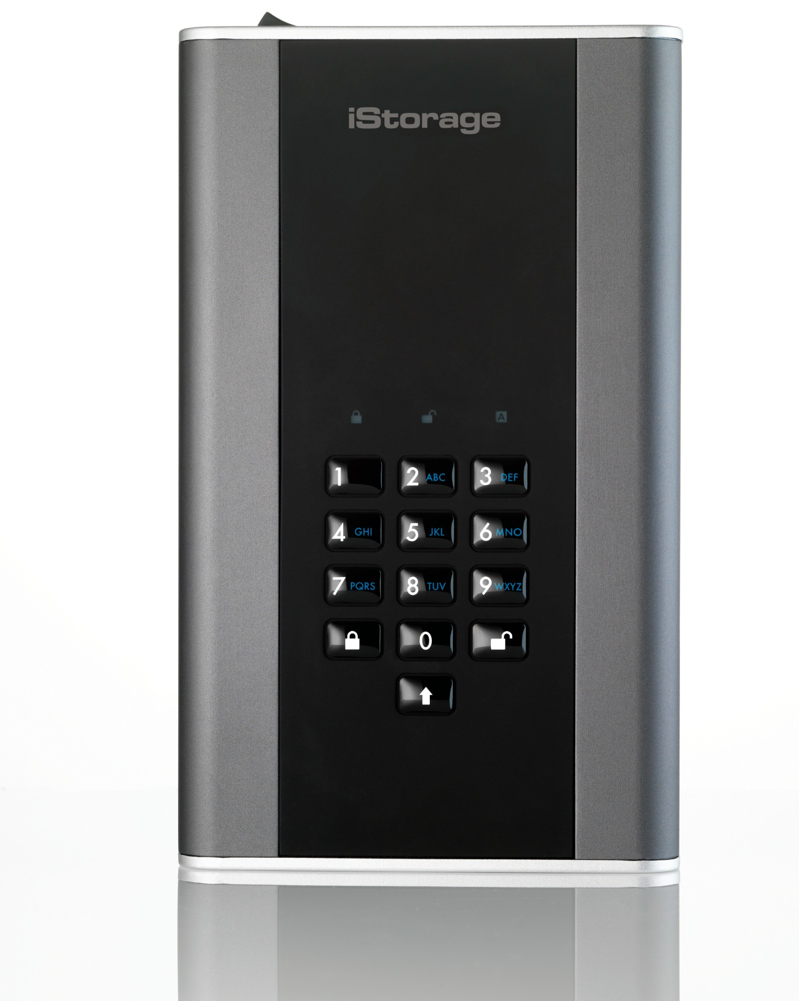 iStorage diskAshur DT 2 6000GB Black,Graphite external hard drive