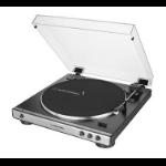 Audio-Technica AT-LP60XUSB Belt-drive audio turntable Grey, Metallic