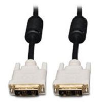 Ergotron DVI Dual-Link Monitor Cable DVI cable 3 m DVI-D Black, White