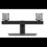 """DELL Dual Monitor Stand 68.6 cm (27"""") Aluminium, Black"""