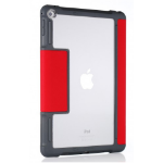"STM dux 24.6 cm (9.7"") Flip case Grey, Red, Transparent"