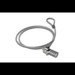 ASSMANN Electronic 64134 1.5m Grijs, Zilver kabelslot