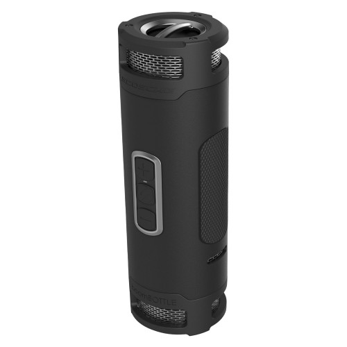 Scosche boomBOTTLE+ Stereo portable speaker 24W Black, Grey