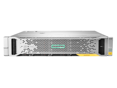 Hewlett Packard Enterprise StoreVirtual 3200 8-port 1GbE iSCSI SFF Storage Rack (2U) disk array