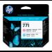 HP Cabezal de impresión DesignJet 771 magenta claro/cian claro