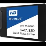 Western Digital Blue 3D NAND SATA SSD 2TB Serial ATA III