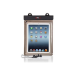 "Proper Waterproof Case inc Waterproof Earphones for 10 inch Tablets 10"" Sleeve case Transparent"