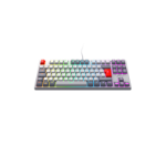 Xtrfy K4 TKL RGB RETRO keyboard USB Grey, White