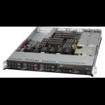 Supermicro SuperServer 1027R-WRF Intel® C602 LGA 2011 (Socket R) Rack (1U) Black