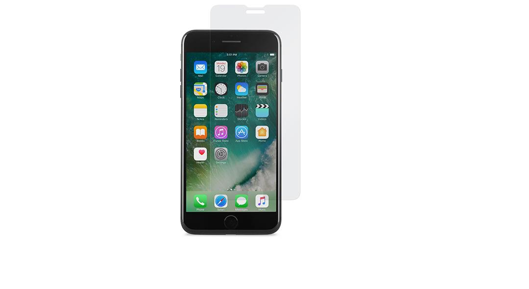Moshi AirFoil Clear screen protector iPhone 7 Plus, iPhone 6s Plus, iPhone 6 Plus 1 pc(s)