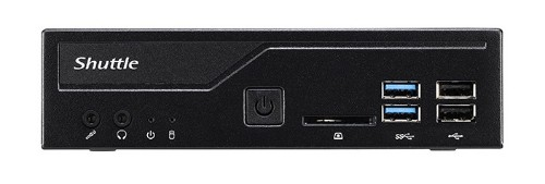 Shuttle XPС slim DH310V2 PC/workstation barebone 1L sized PC Black Intel® H310 LGA 1151 (Socket H4)