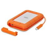 LaCie Rugged Thunderbolt USB-C disco duro externo 5000 GB Naranja, Plata
