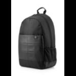 "HP 39.62 cm (15.6"") Classic Backpack notebook case 39.6 cm (15.6"") Black"