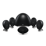 KEF E305 Home Cinema System - Black - End Of Life - Please see the T Series